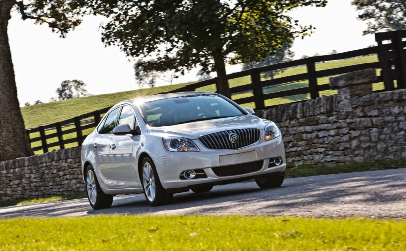 Reflections on Buick Verano's Shiny Paint Job