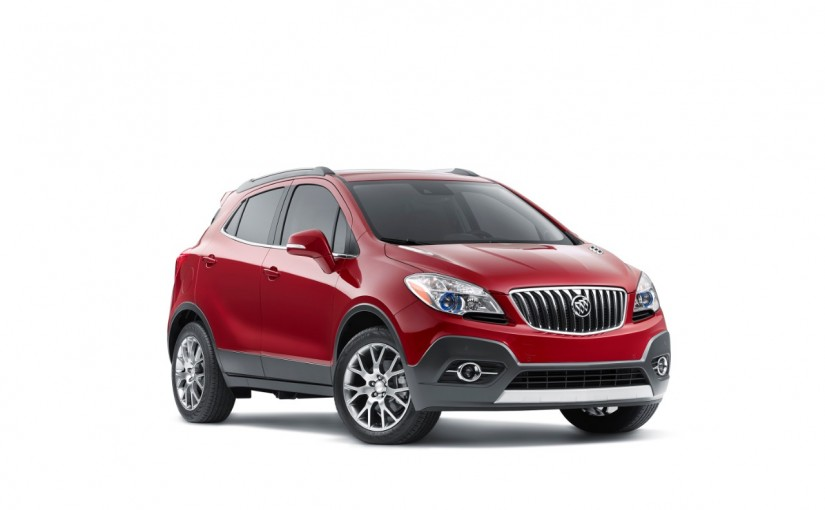 Introducing The 2016 Buick Encore Sport Touring