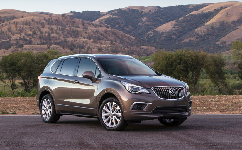 GM Introduces the 2016 Buick Envision Luxury Crossover