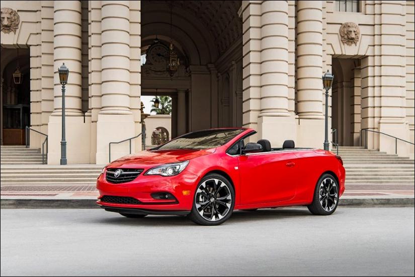 Buick Cascada Sport Red