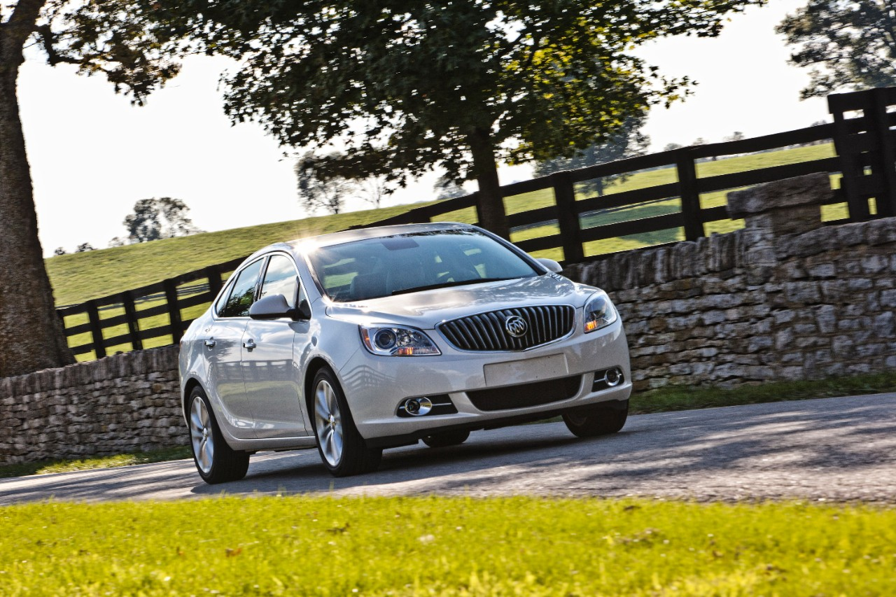 Reflections on the Buick Verano and its Shiny Paint Job