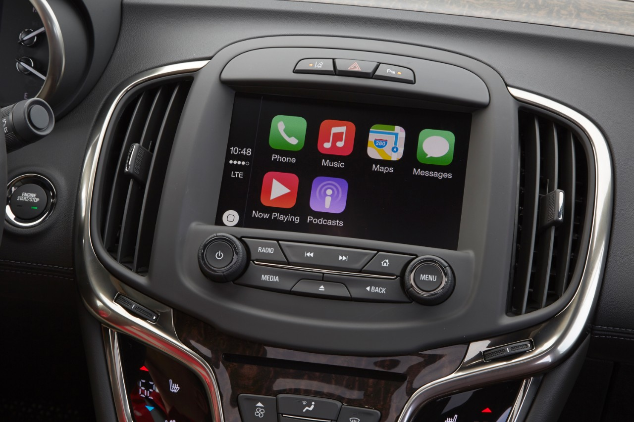 Buick Introduces Apple CarPlay Capability