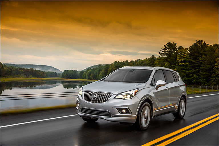 Buick Envision AWD Earns 5-Stars in 2017