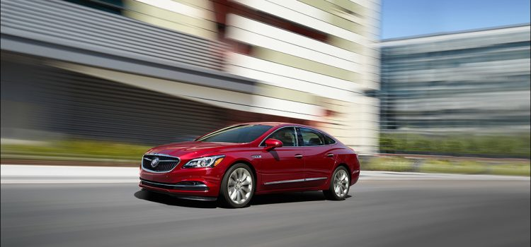 Light Electrification Leads 2018 Buick LaCrosse Updates