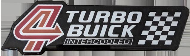 turbo buick badge