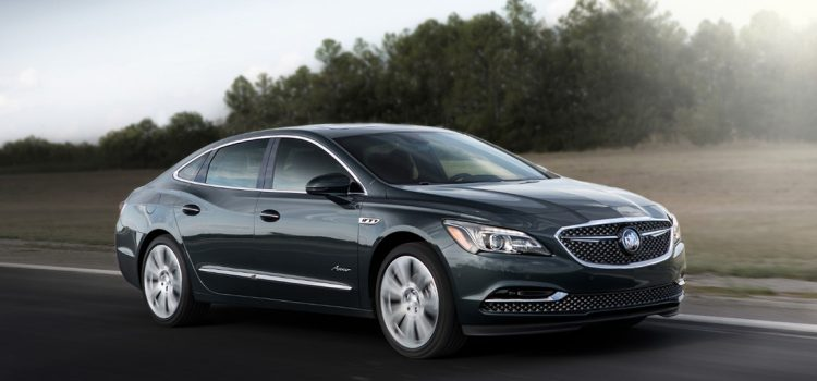 Buick LaCrosse Avenir Makes World Debut