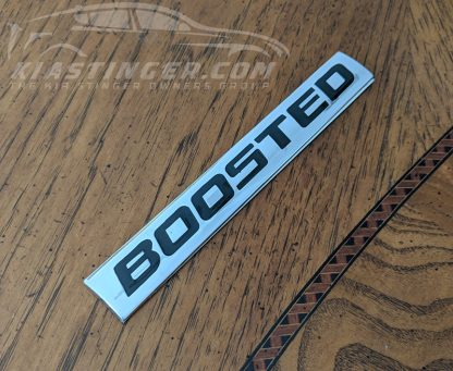 boosted badge