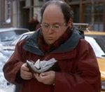 Image result for overstuffed george costanza wallet